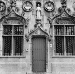 Facade on a building